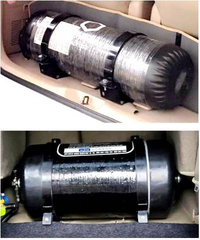 CNG High Pressure Cylinders (Type 4 Composite Type)